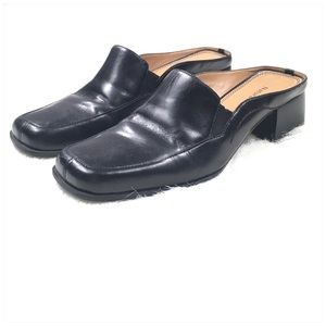 Naturalizer Shoes - Naturalized Black Leather Mules Size 9